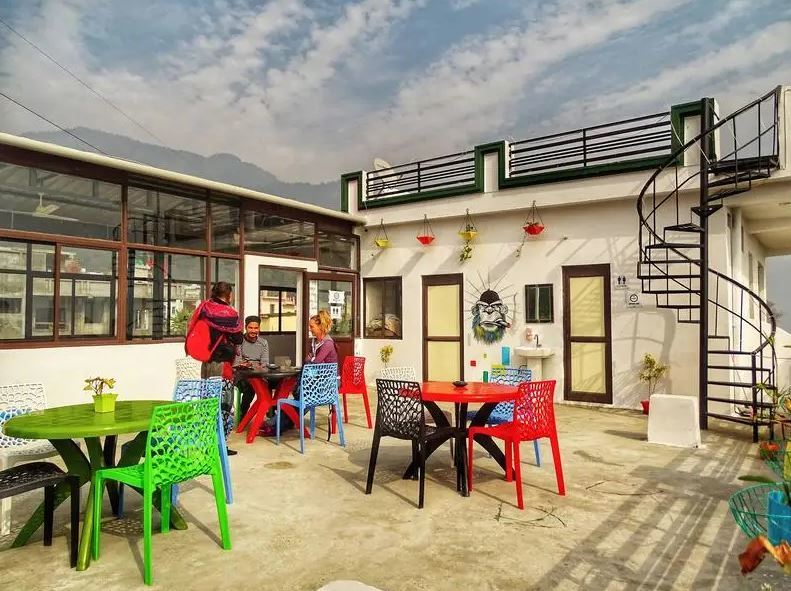 Moustache Rishikesh best hostels in Rishikesh