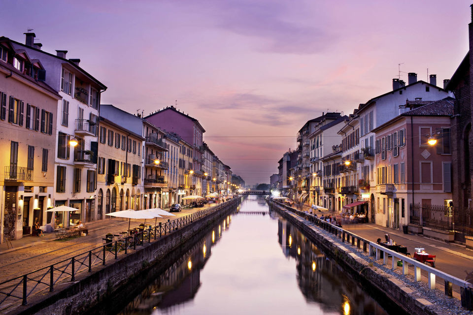Night Out in the Naviglio District