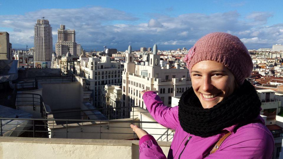 Panoramic Views of Madrid