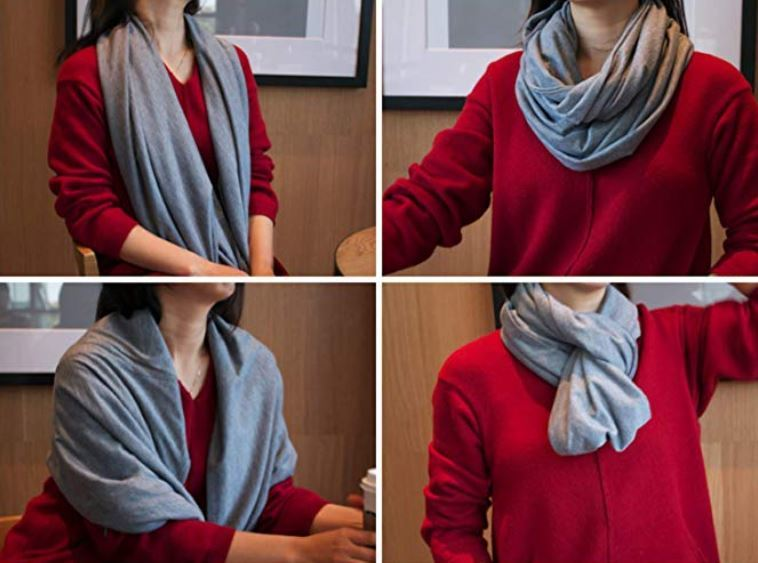 Ready+Steady RFID Travel Infinity Scarf
