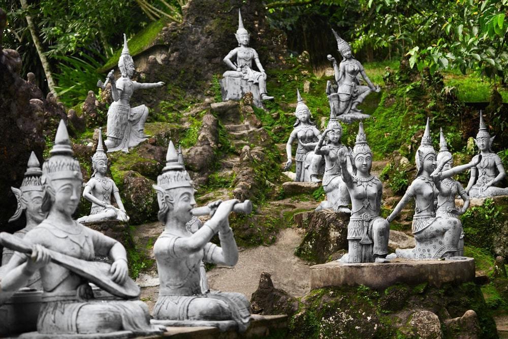 The Secret Buddha Garden