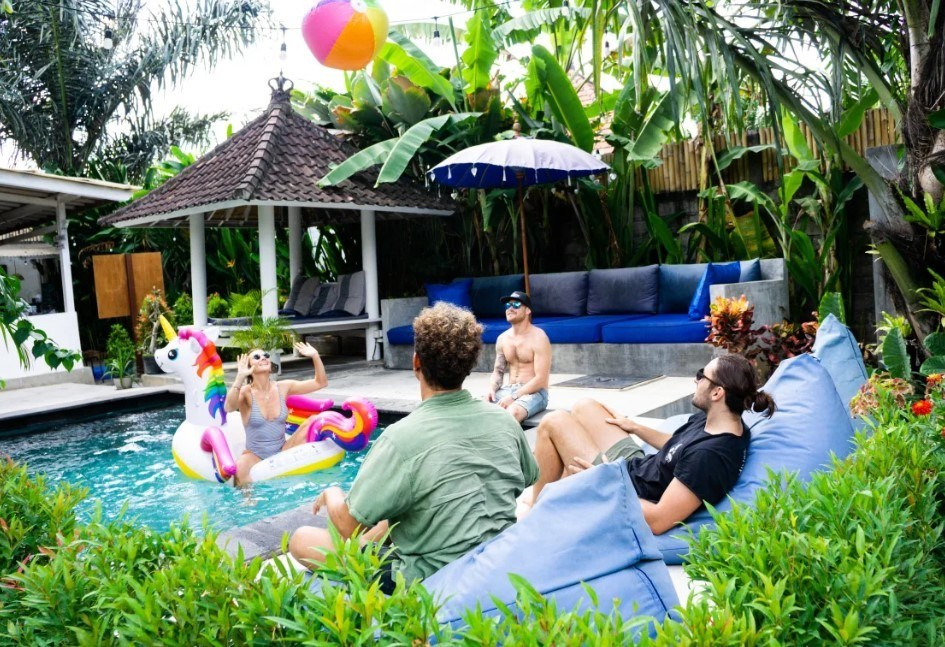 The Hideout Hostel best hostels in Canggu