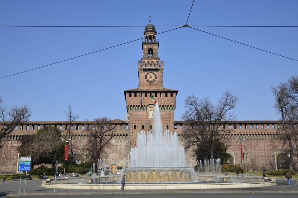 The Sforzesco Castle Complex