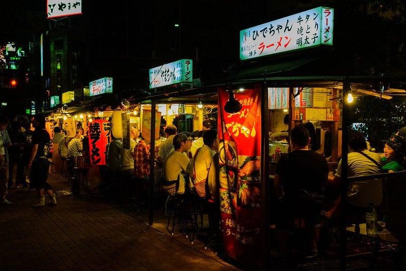 Yatai Food Stalls Nakasu Island