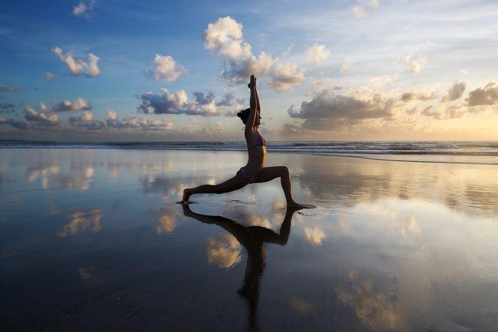 Young Girl Yoga, Nusa Lembongan