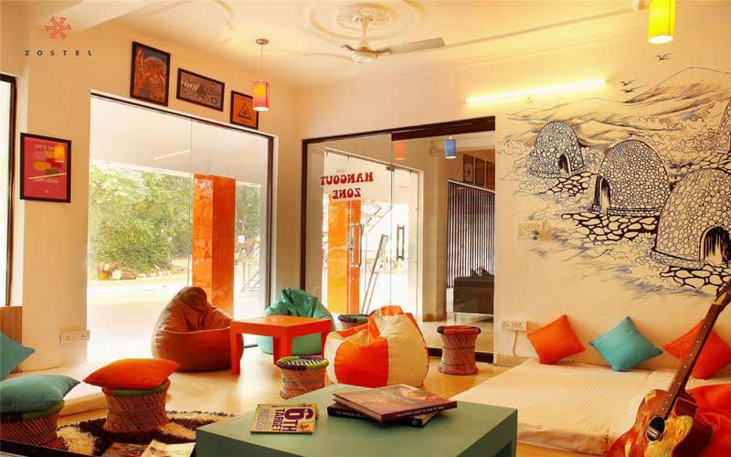 Zostel Rishikesh best hostels in Rishikesh