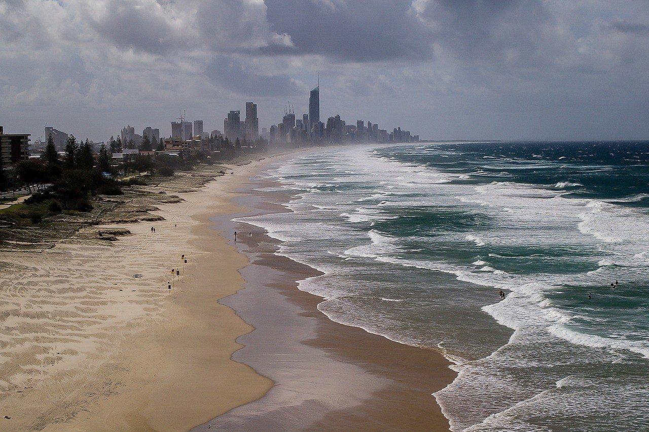 Relax on Gold Coast Beach