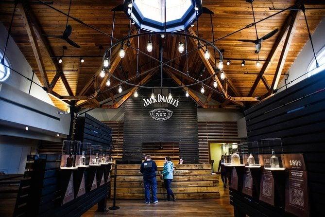 Nashville to Jack Daniels Distillery Bus Tour