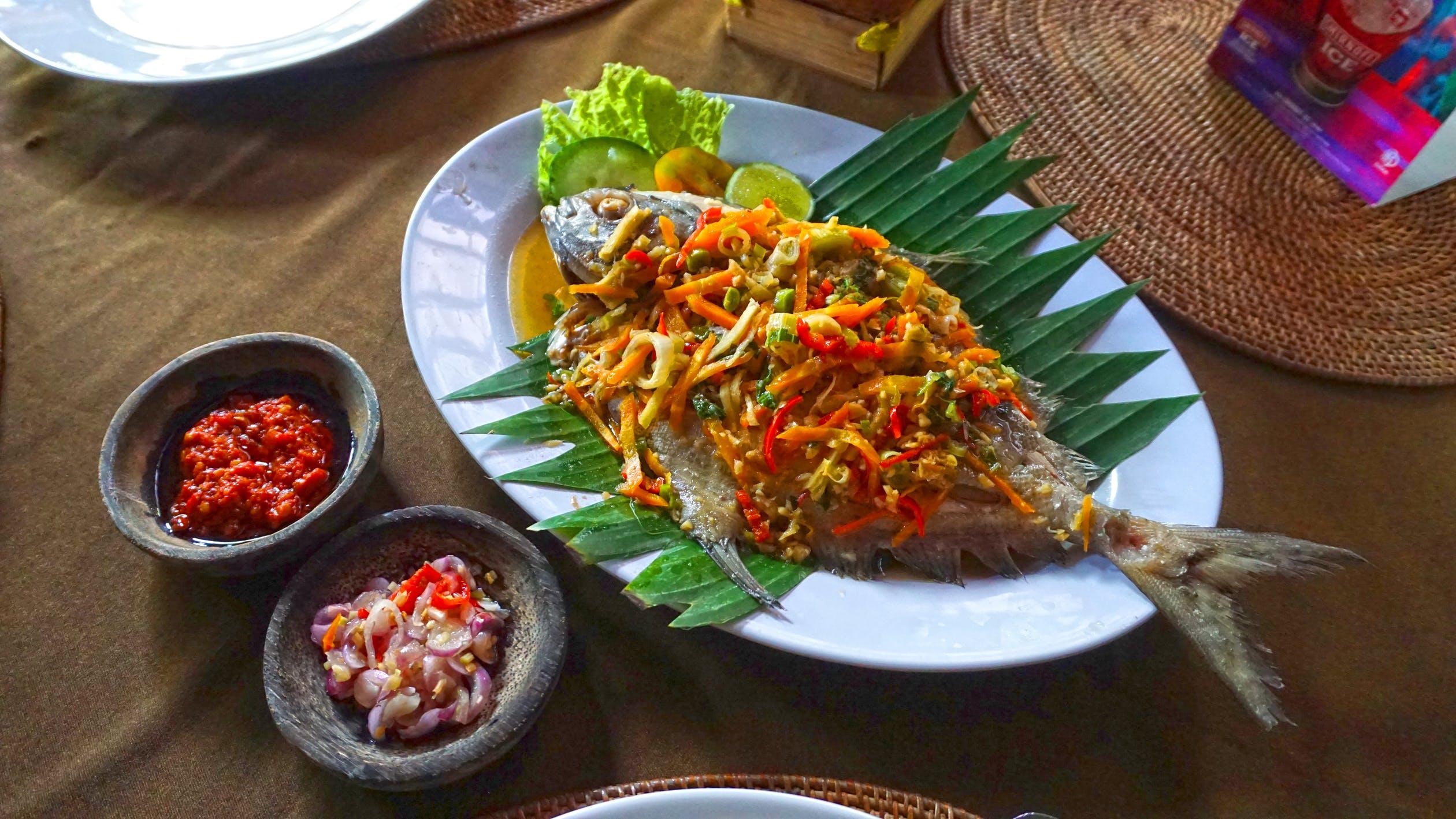 fresh seafood in jimbaran