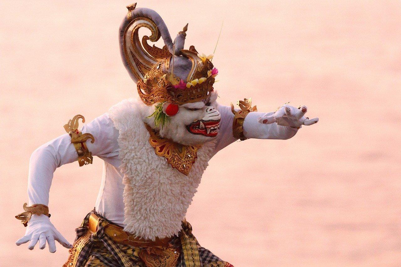 kecak dance actor