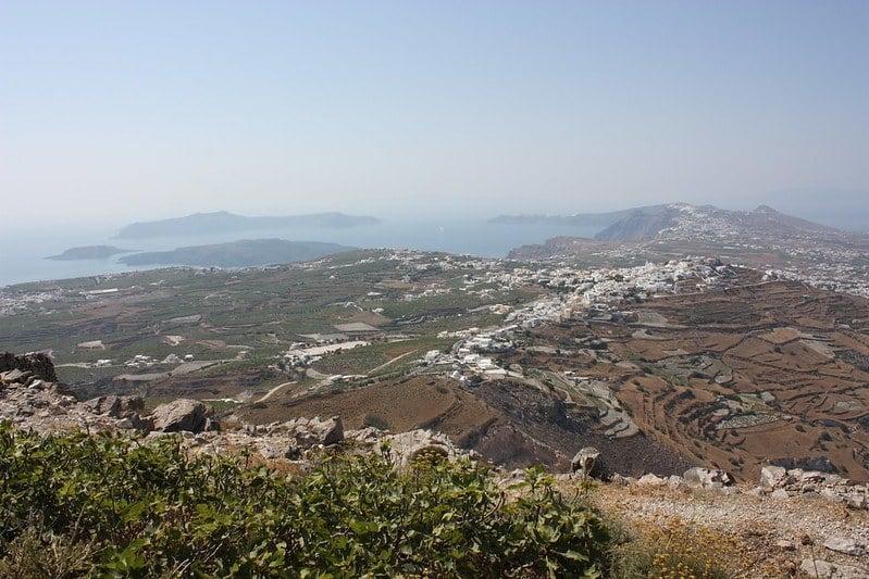 profitis ilias mountain Santorini