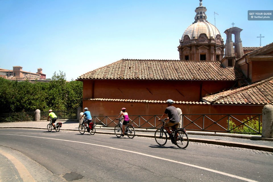 Rome City Centre Bike Tour
