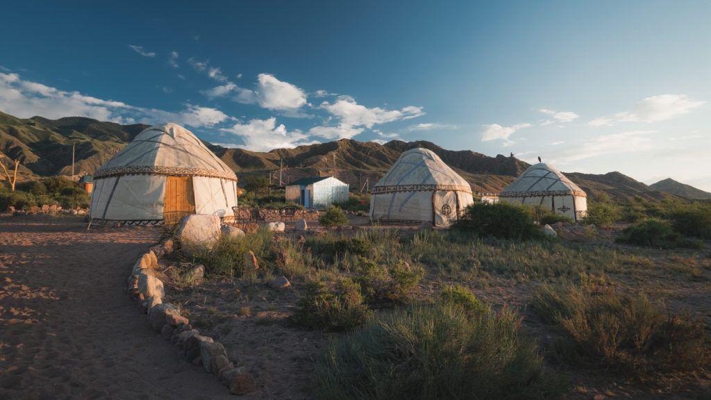 yurt stays in kyrgyzstan issyk kul