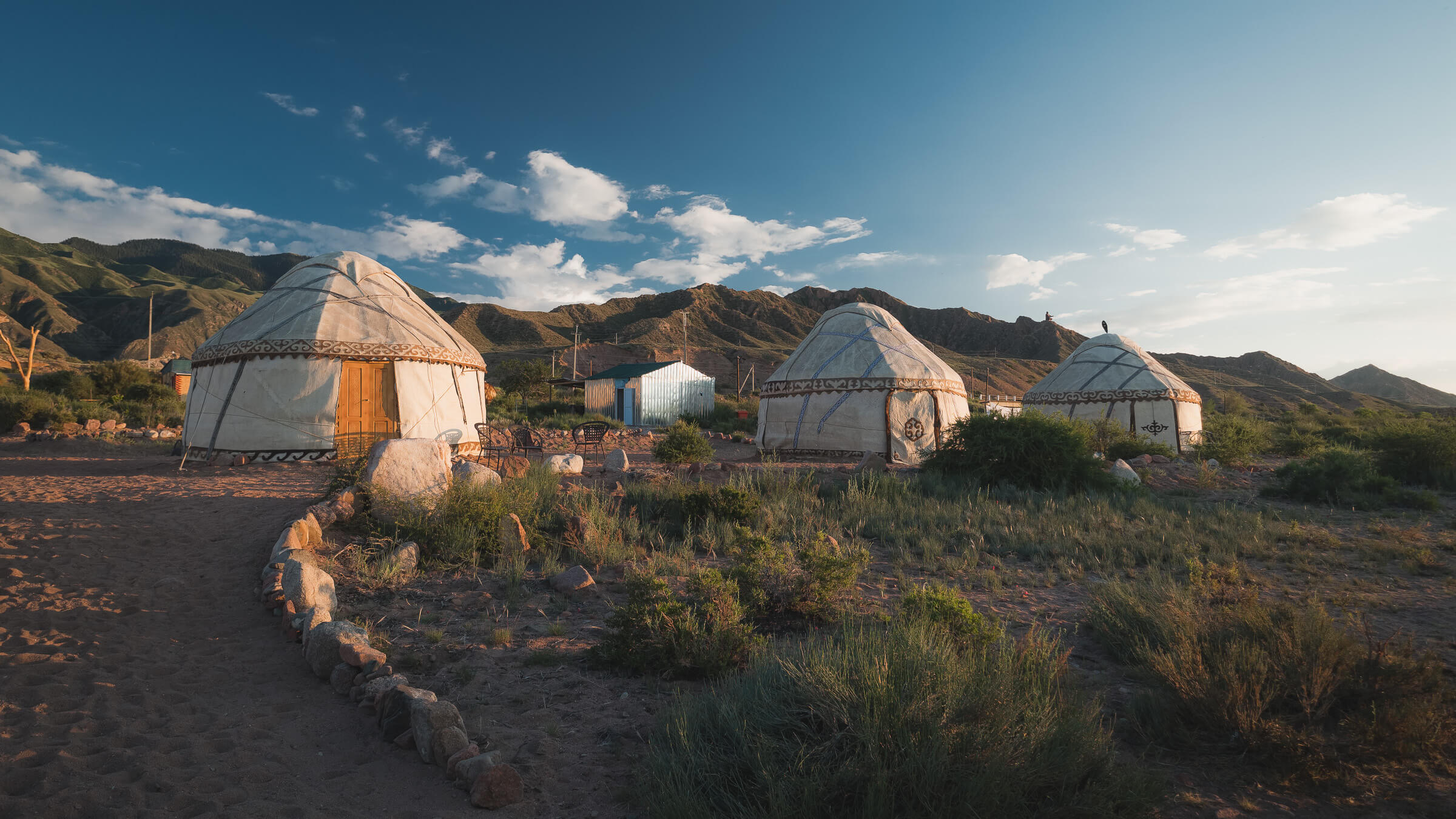 yurt stays in kyrgyzstan issyk kul