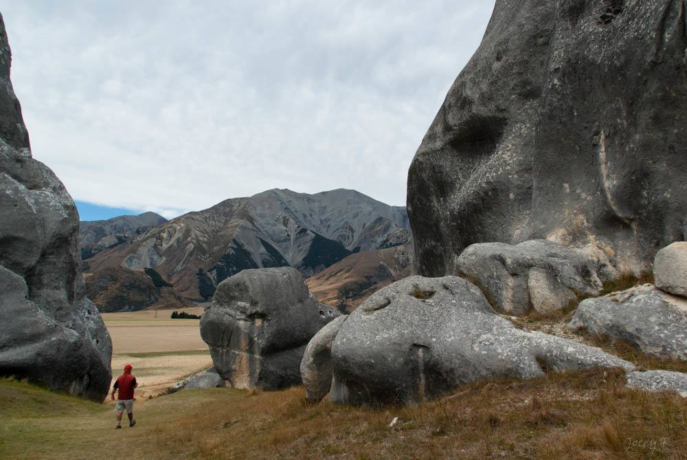 Castle Hill is the ultimate destination for any climbers on a holiday in New Zealand's South Island