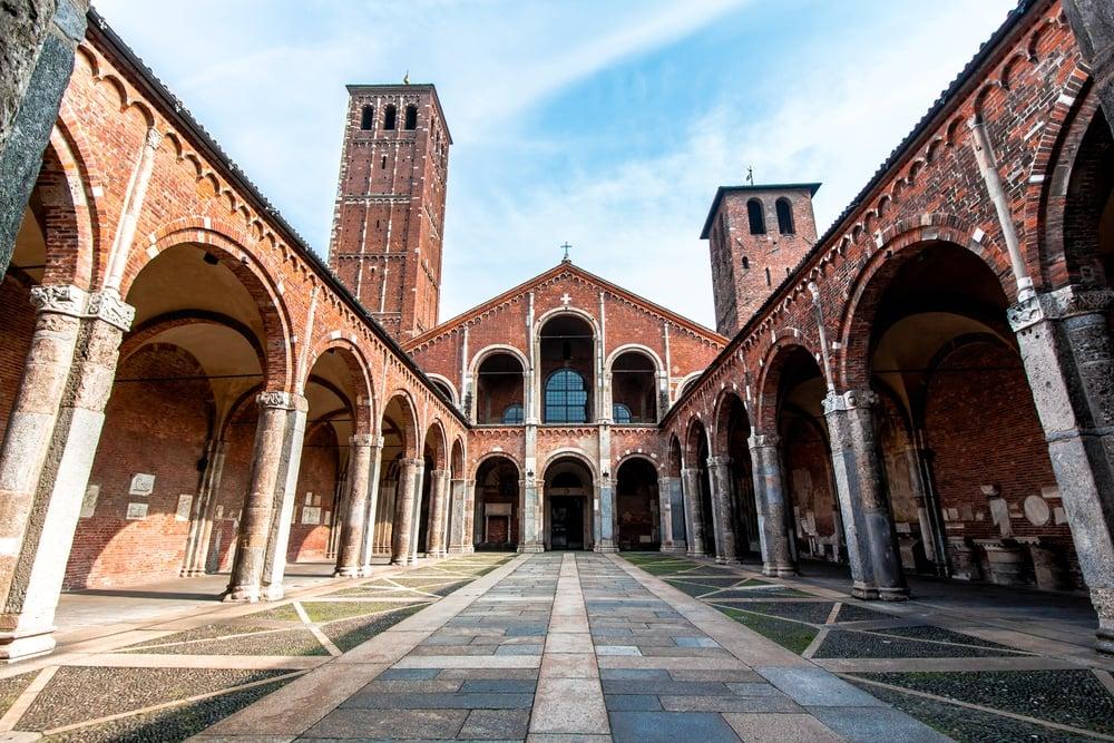 Oldest Churches in Milan