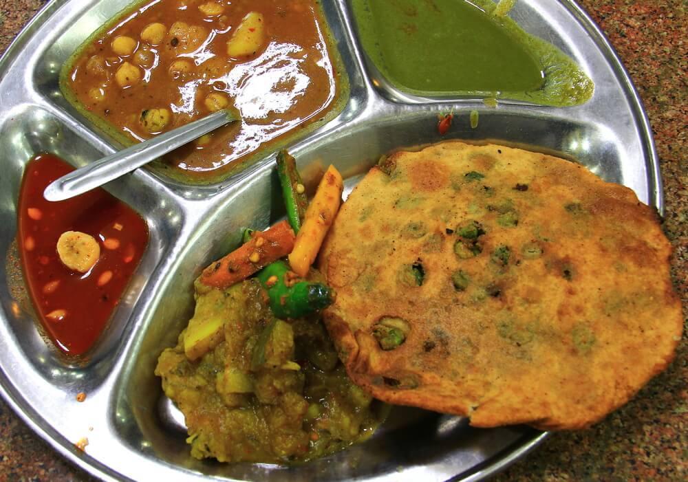 Shop and eat at Chandni Chowk