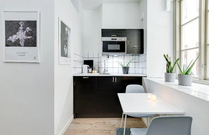 Cute little studio Stockholm