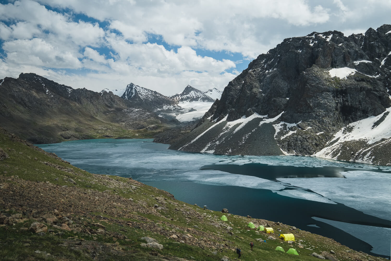 hike to ala kul lake kyrgyzstan