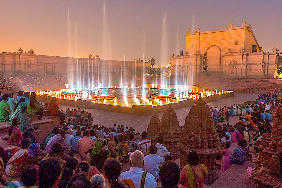 Akshardham Exhibition Light and Water Show with Transfers
