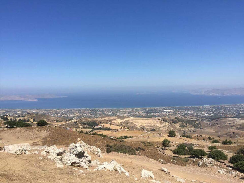 Head to the top of Mount Dikaios