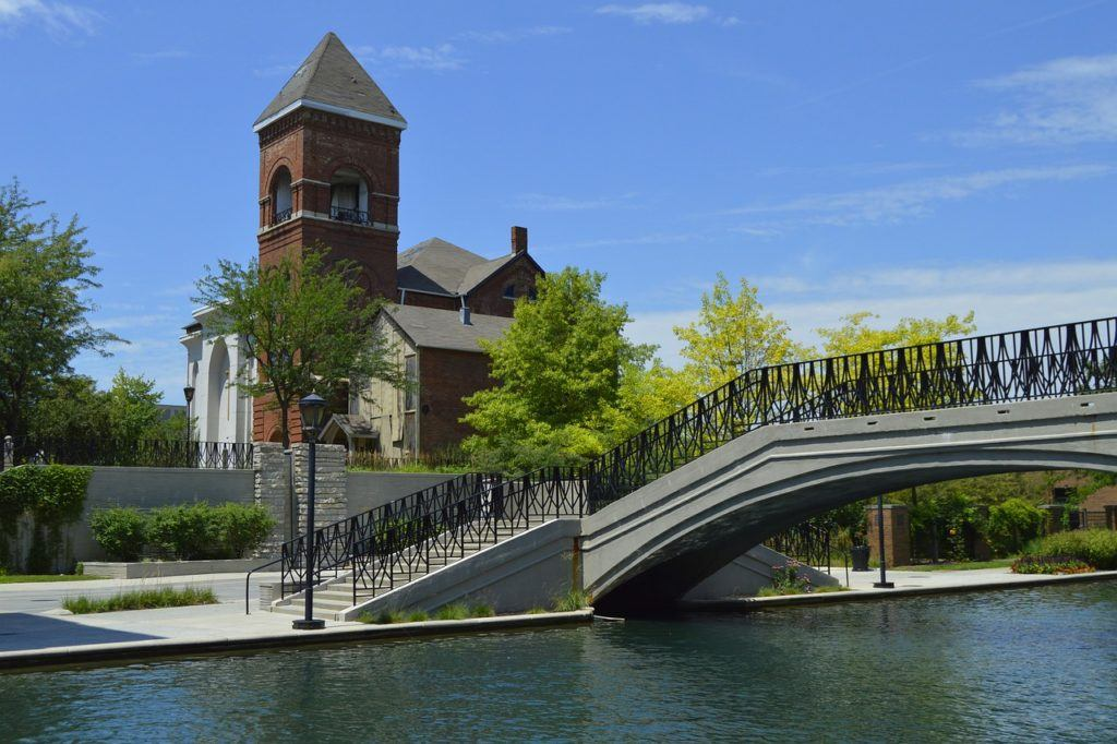 Stroll Along the Central Canal in Indianapolis