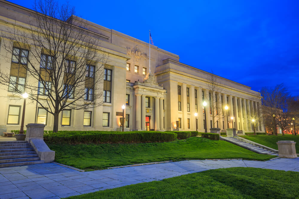 Beautiful Neoclassical Central Library in Indianapolis