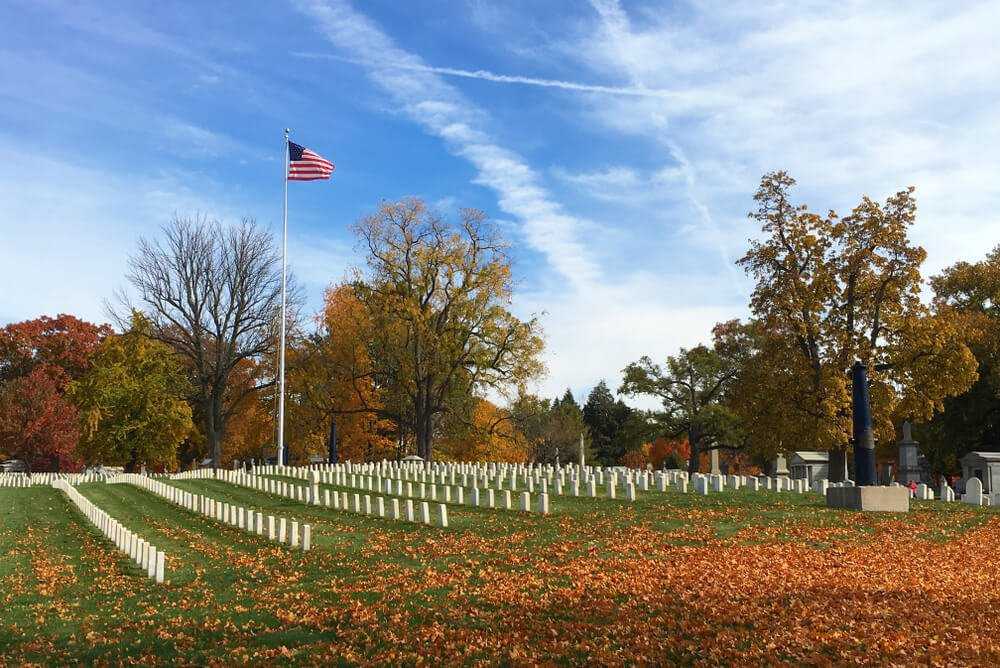 The final resting place for famous Americans - Crown Hill Cemetery in Indianapolis