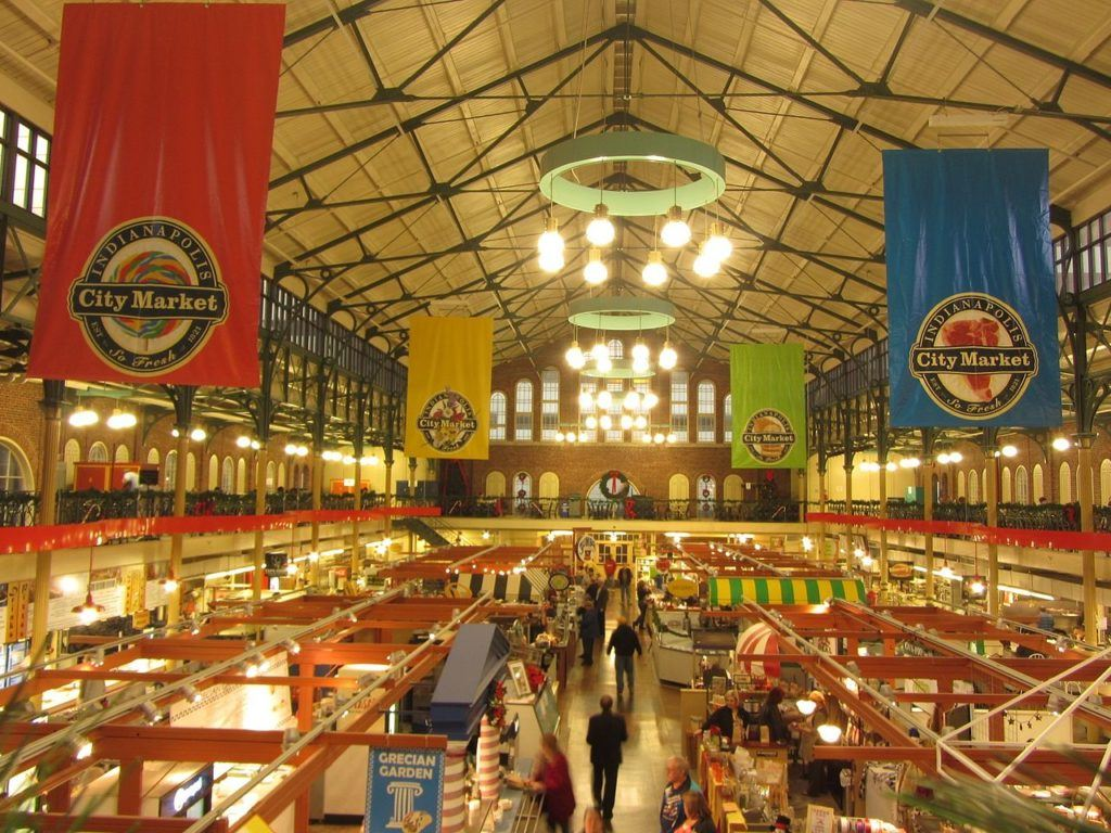 Have your fill and dine at the Indianapolis City Market