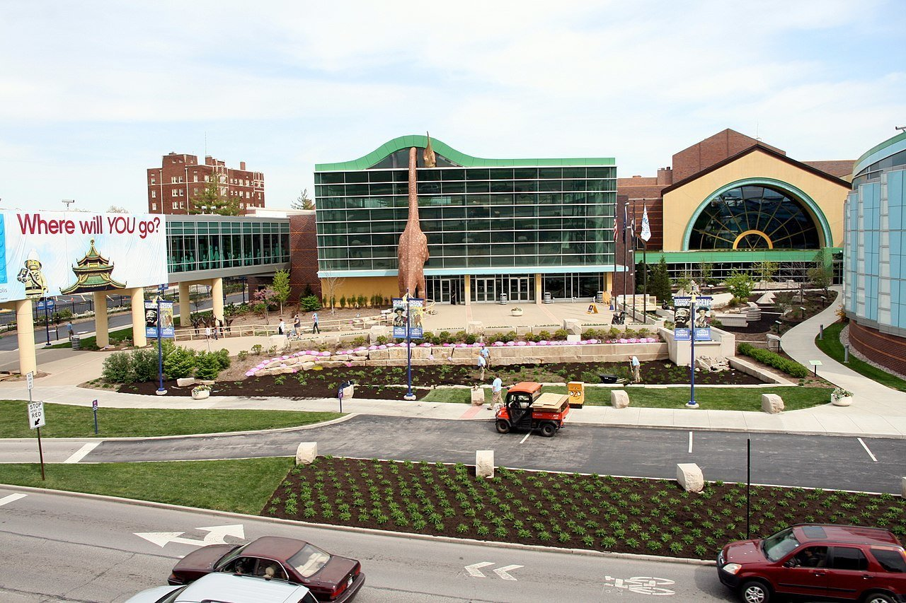 Keep the children busy and excited by visiting the Children's Museum of Indianapolis.