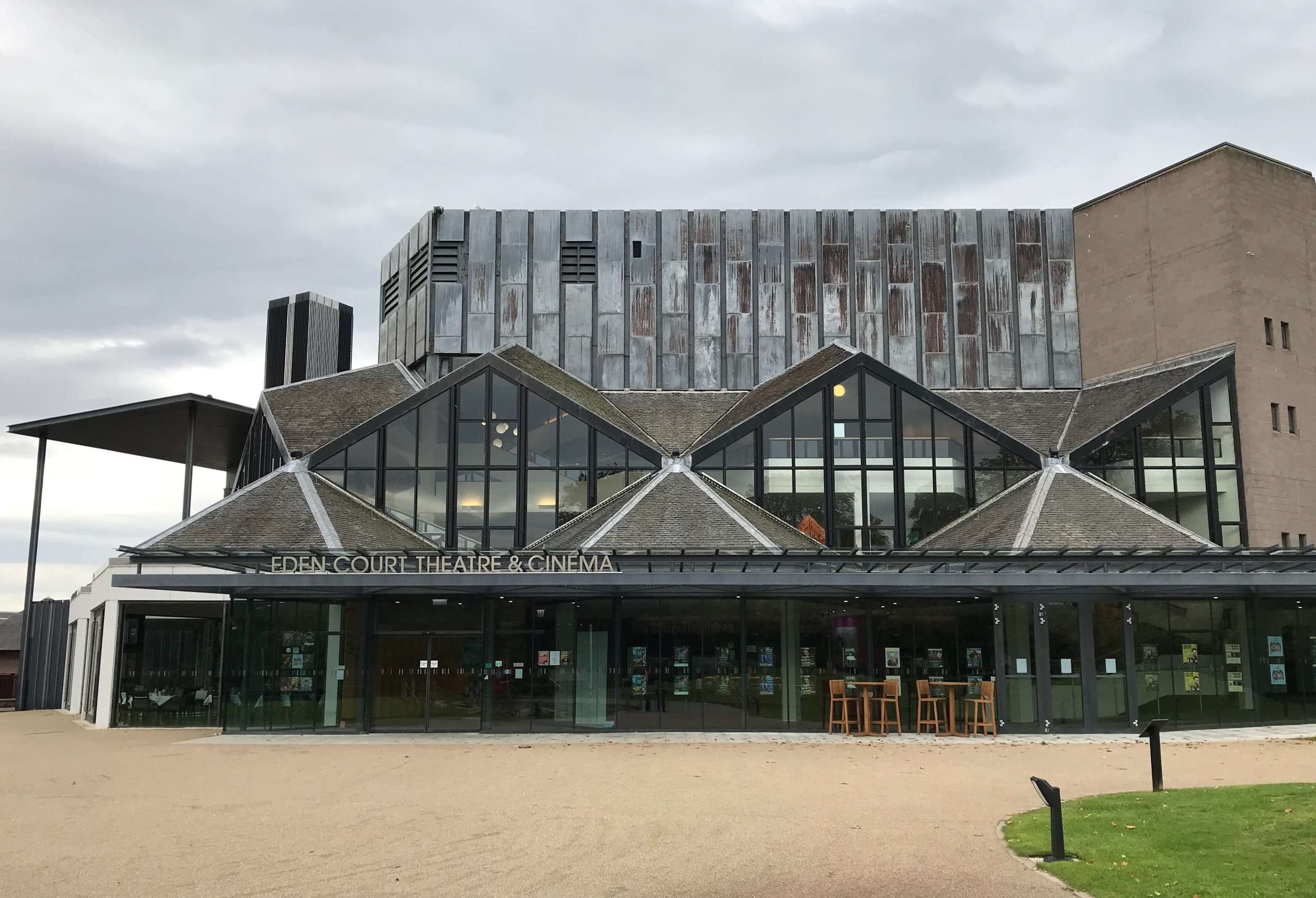 Eden Court Theatre in Inverness