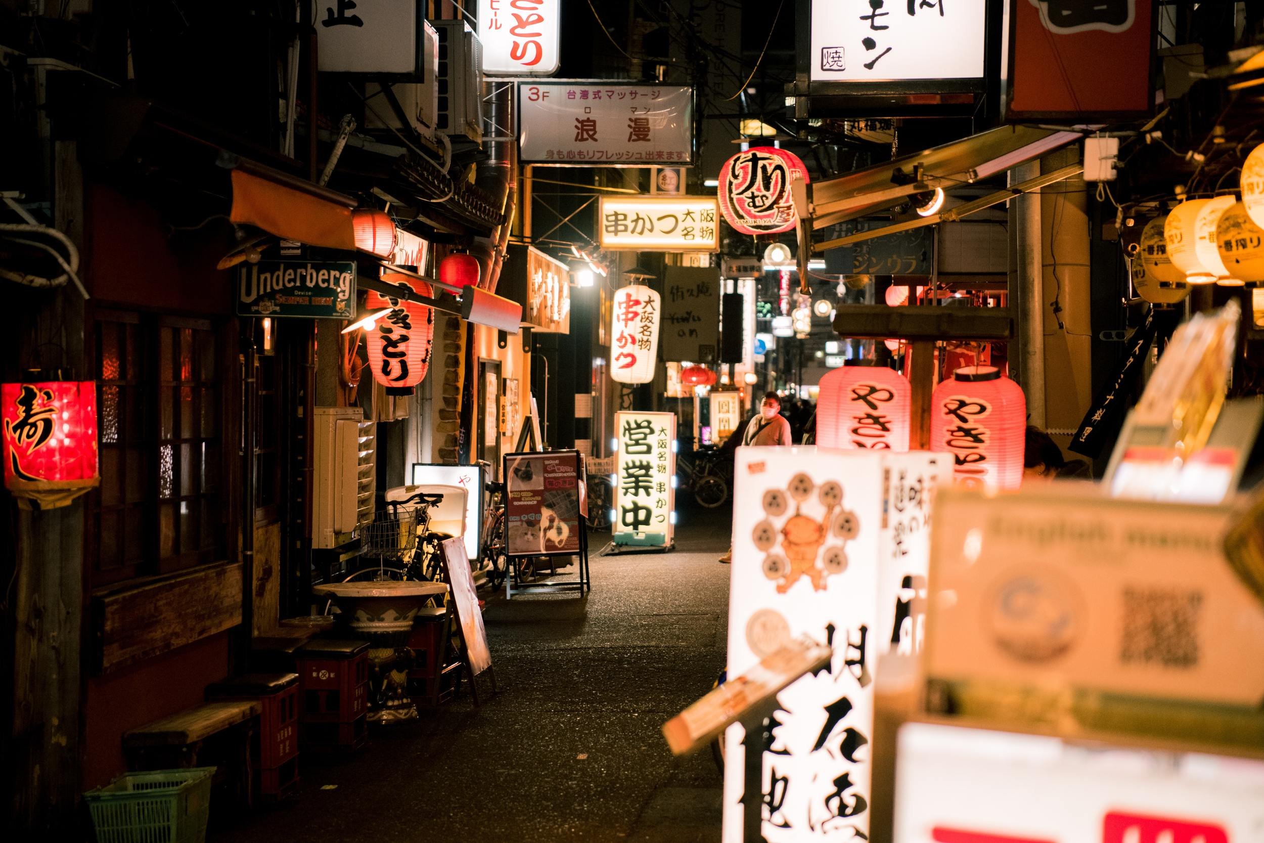 Izakaya, Osaka - nightlife bars and markets