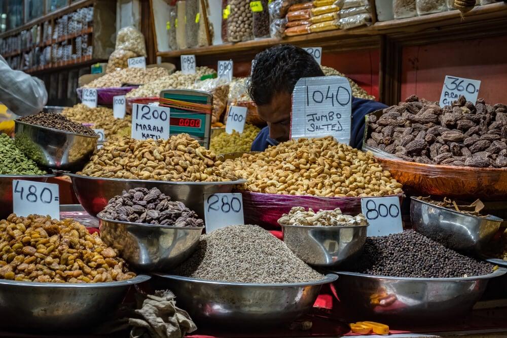 Do some spice shopping at Khari Baoli