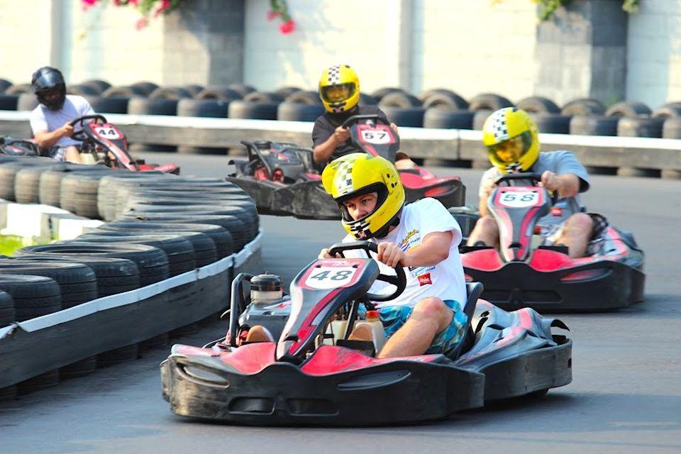 Play Mario Kart in real life