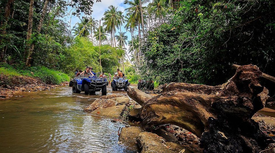 Quad biking tour in Mauritius's South - fun tourist activity