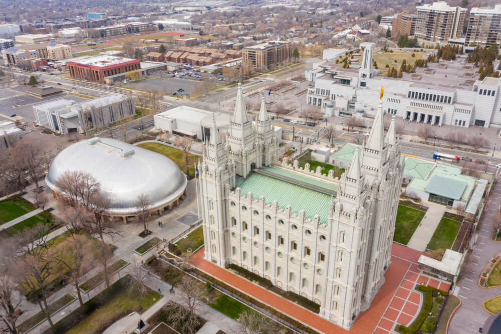 Visit the Mormon Tabernacle in Salt Lake City and listen to the choir.