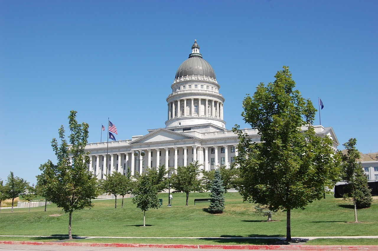 Stroll around the State Capitol in Salt Lake City.