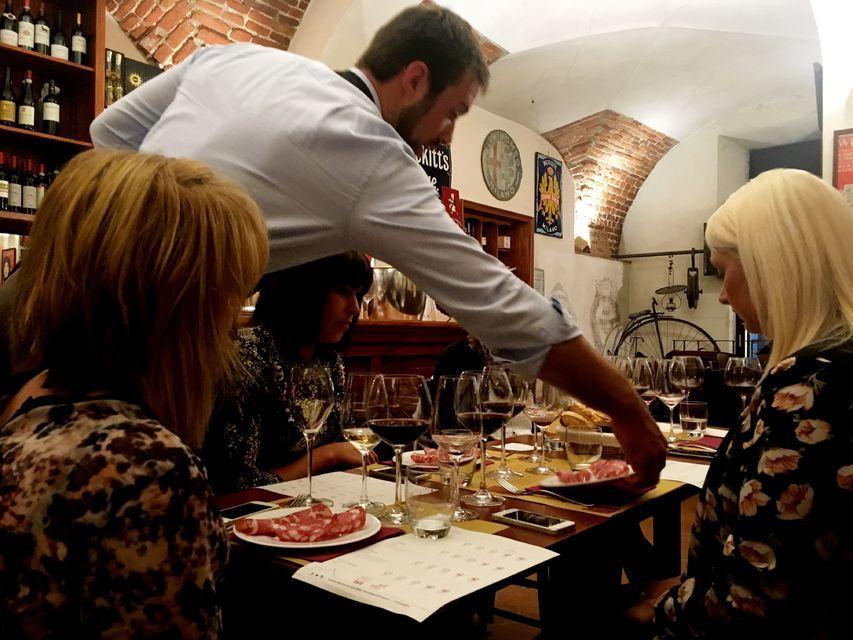 Sample the Italian Wine