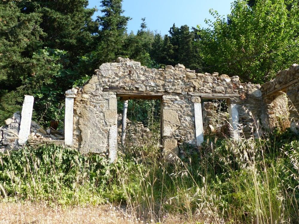 Abandoned village of Haihoutes