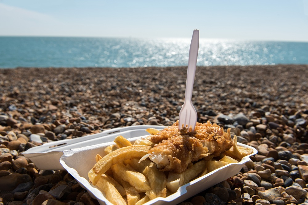 Fish and Chips in New Zealand - number one food