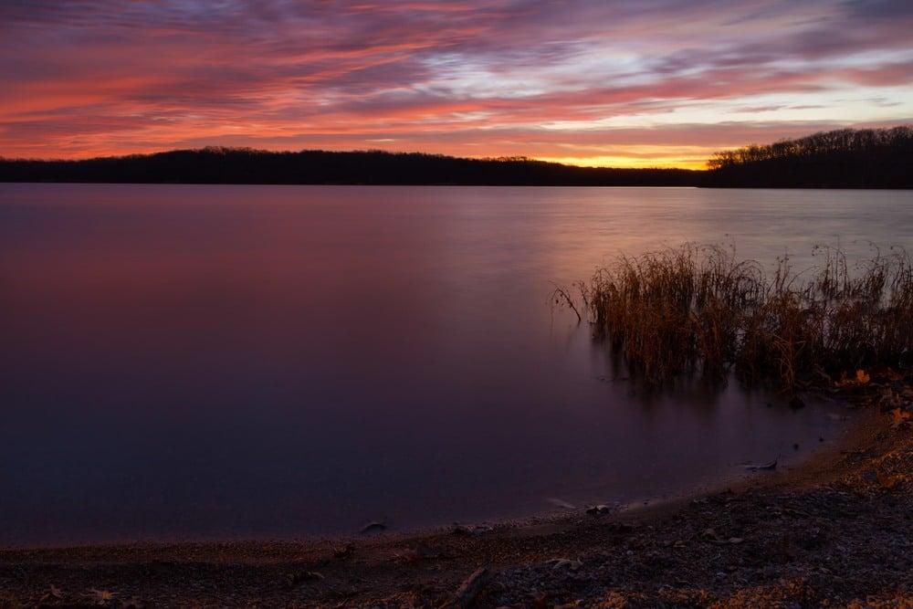 Relax at Lake Jacomo