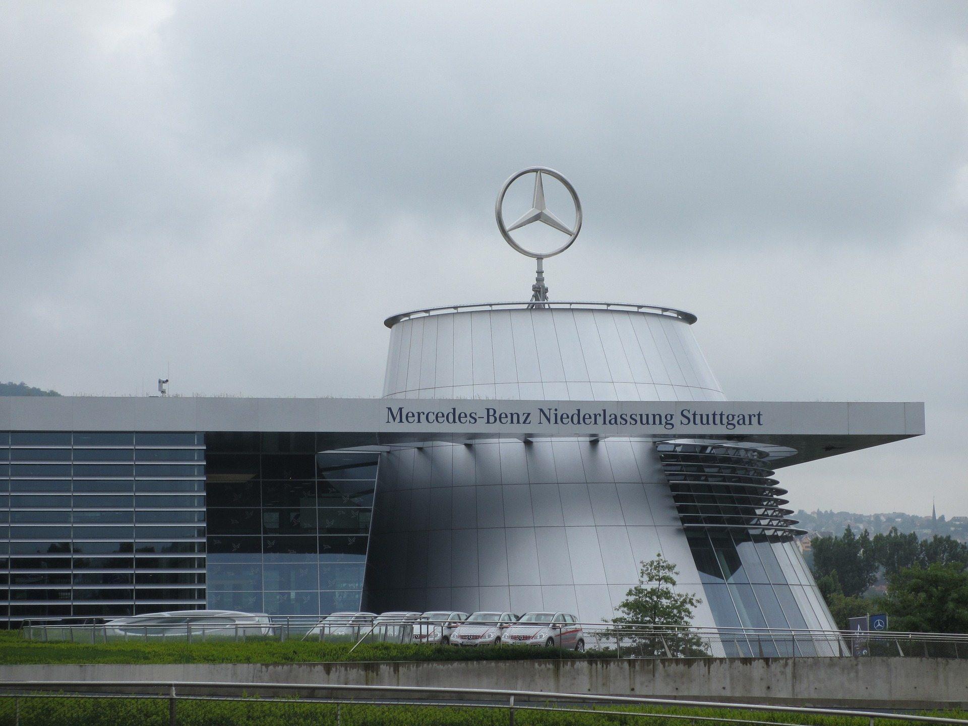 Take a tour around Mercedes Benz in Stuttgart.