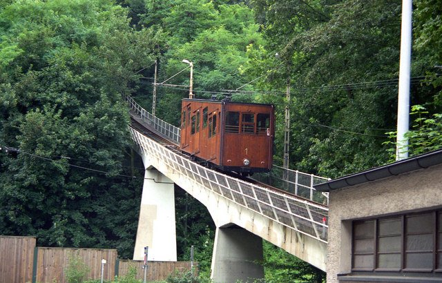 Take a ride on the Standseilbahn in Stuttgart.