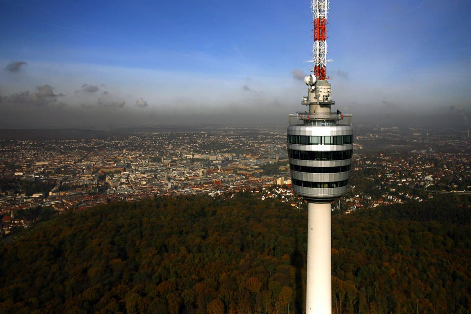 Ascend the Stuttgart TV Tower