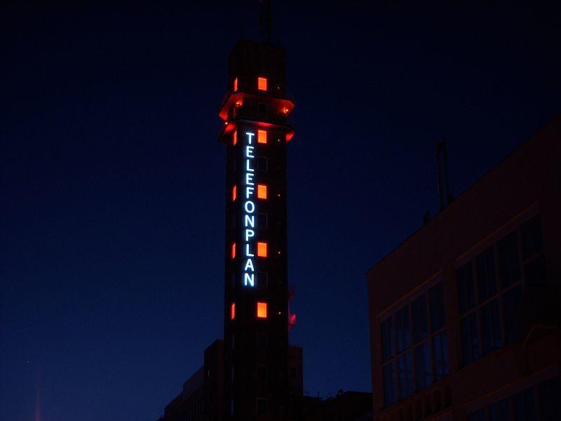 Telefonplan tower