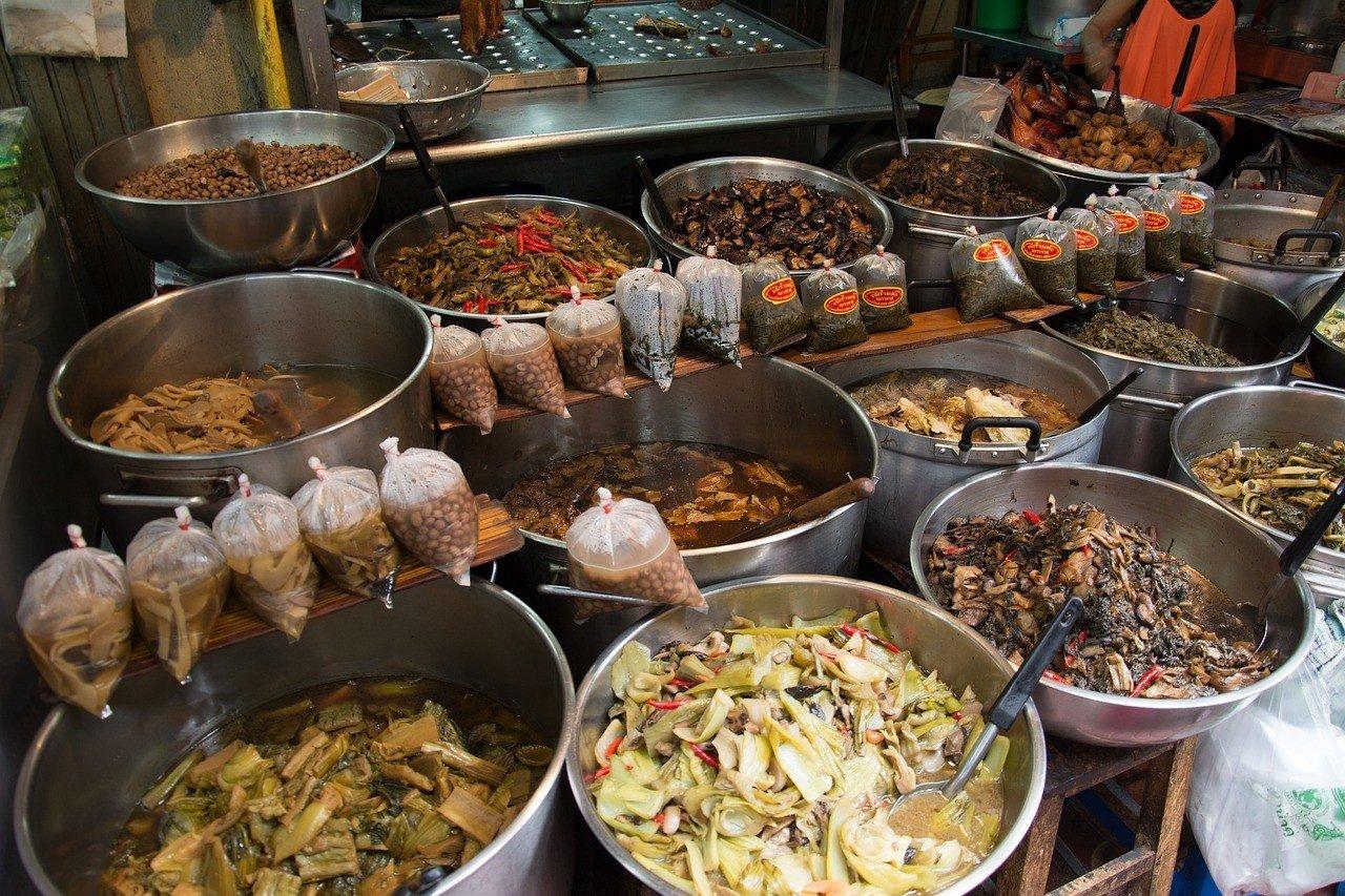 Thai Food Vegetable Various Food Asian Thai