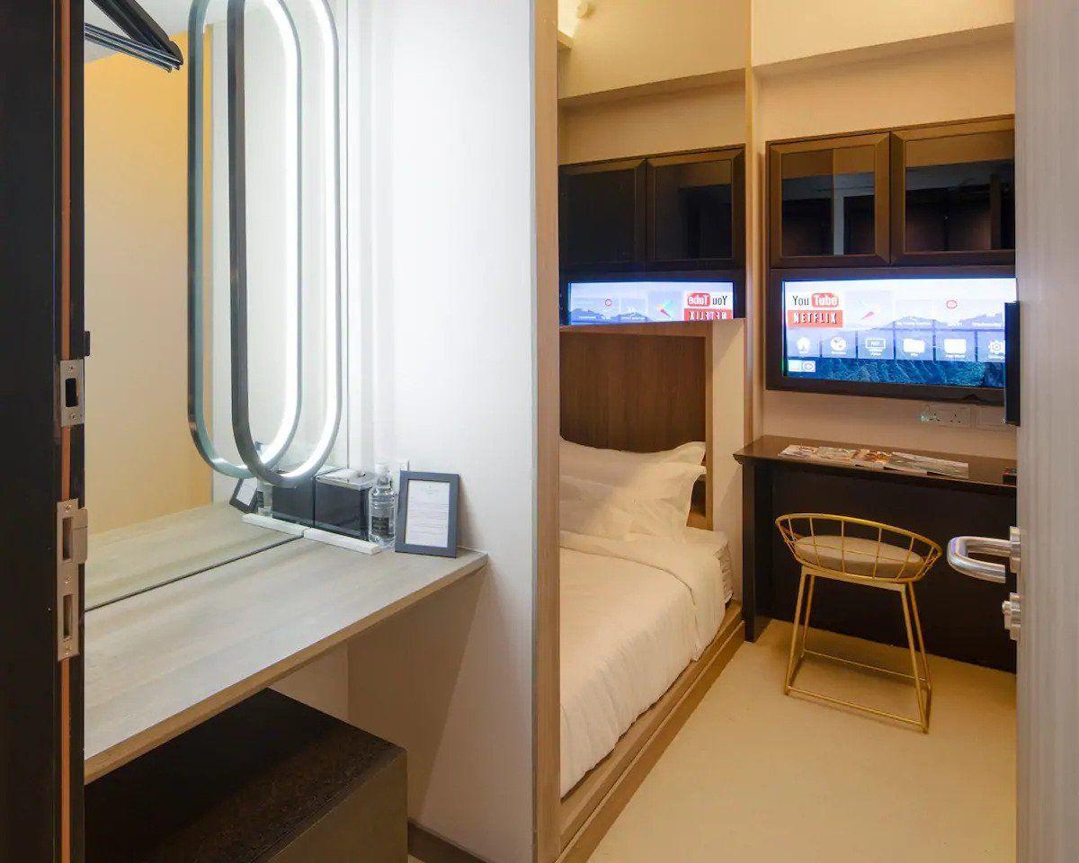 Private Room in Social Hotel