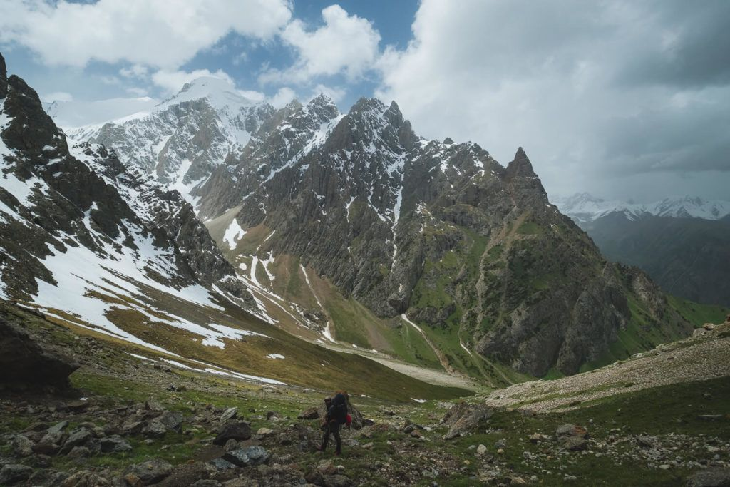 Disappearing into the Kyrgyzstan wilderness with the best backpcking equipment