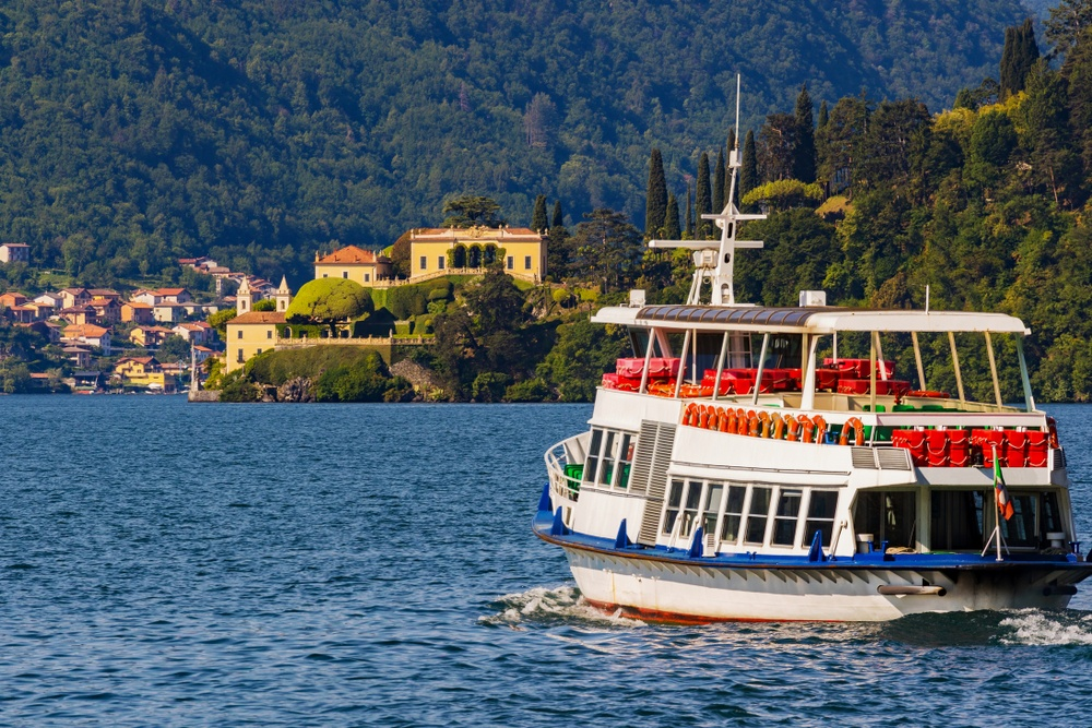 Lake Como itinerary