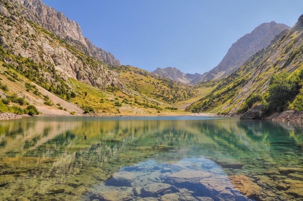 holy lakes arslanbob kyrgyzstan